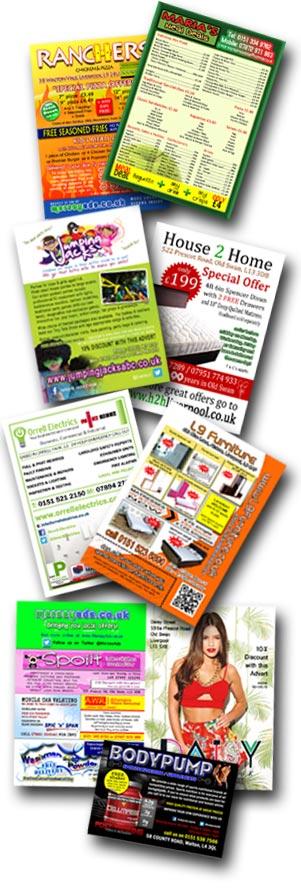 Leaflet distribution door drop delivery liverpool merseyside for Door 2 door leaflets